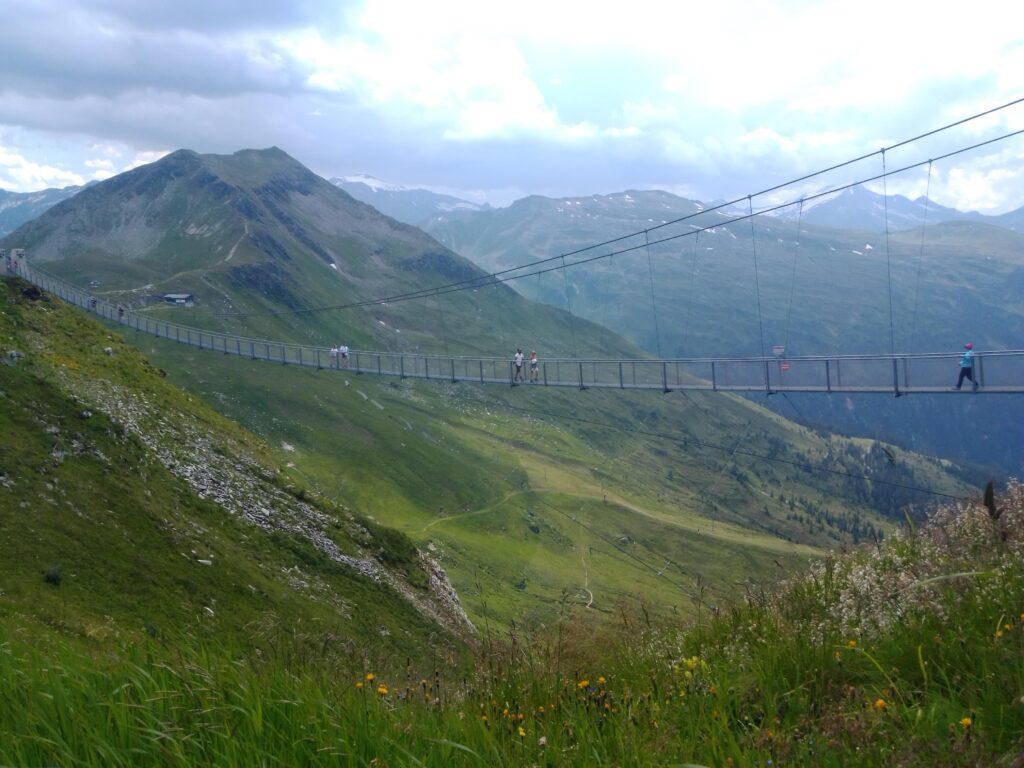 Stubnerkogel Visutý most