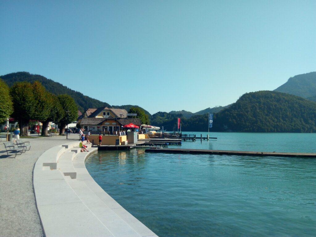 Wolfgangsee Sankt Gilgen přístaviště