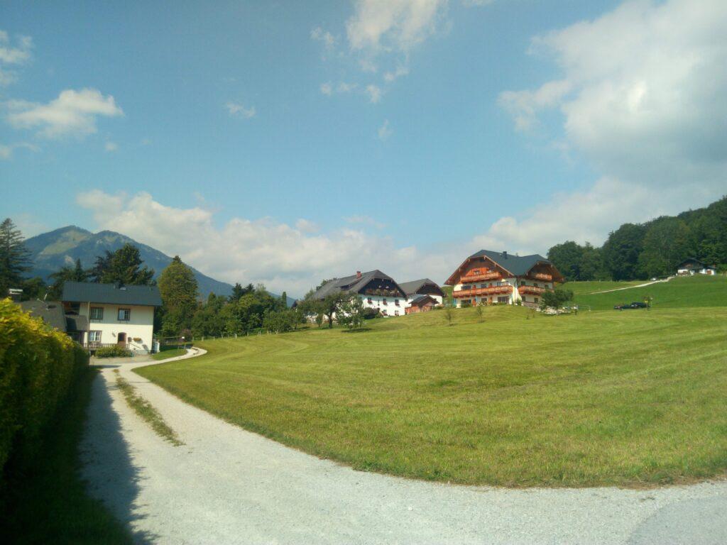 výlet kolem Wolfgangsee